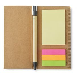 Set post it green sticpad
