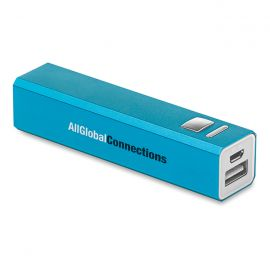 Power bank in alluminio poweralu
