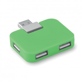 Multipresa usb square