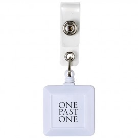 Porta nome/badge con clip