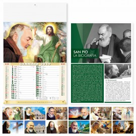 "Calendario illustrato ""san pio"""