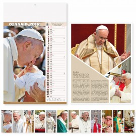 "Calendario illustrato ""papa francesco"""