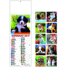 Calendario fotografico slim cats & dogs