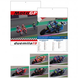 Calendario illustrato moto gp